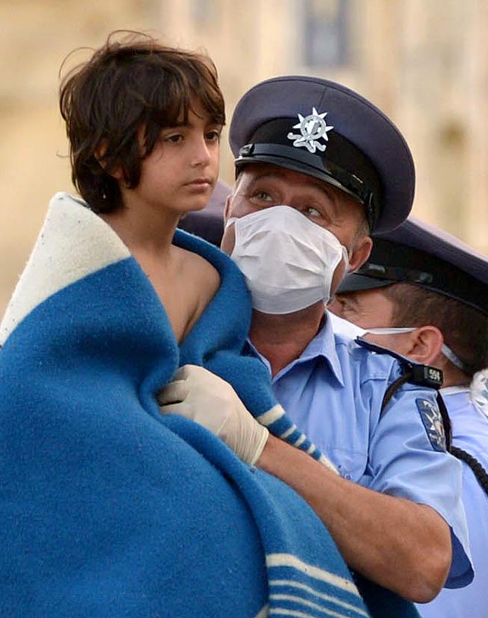 MALTA-ITALIA-IMMIGRACIÓ-REFUGIAT-ACCIDENT