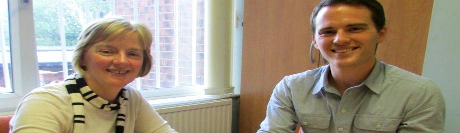 David Atherton hukutana na Linda MCEvan MEP