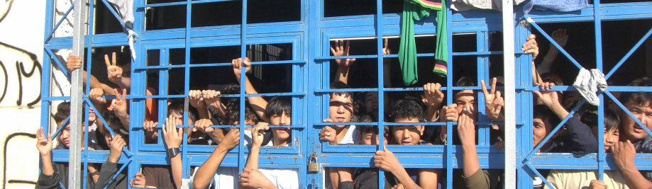 UNHCR Photo Greece Detention - #UNHCR issues recommendations for EU to make 2020 year of change for #Refugees protection