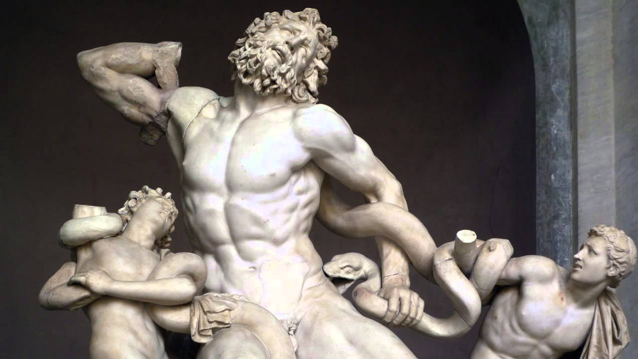 a comparison of laocoon and his two sons by hagesandros polydoros and athenodoros and fall of the da Athens did not heed his warnings and was crushed by philip of macedon and his son alexander laocoon and hagesandros, and polydoros of his gospel two.
