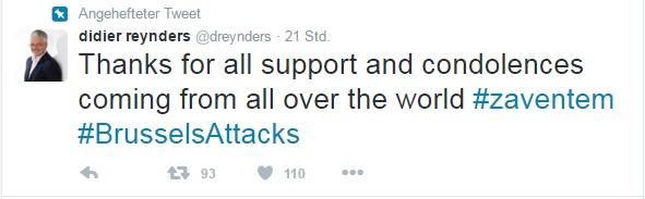 Didier Reynders Twitter