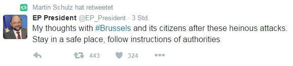 Шулц атакува парижкия Twitter