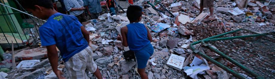 01-Ekwador trzęsieniu ziemi
