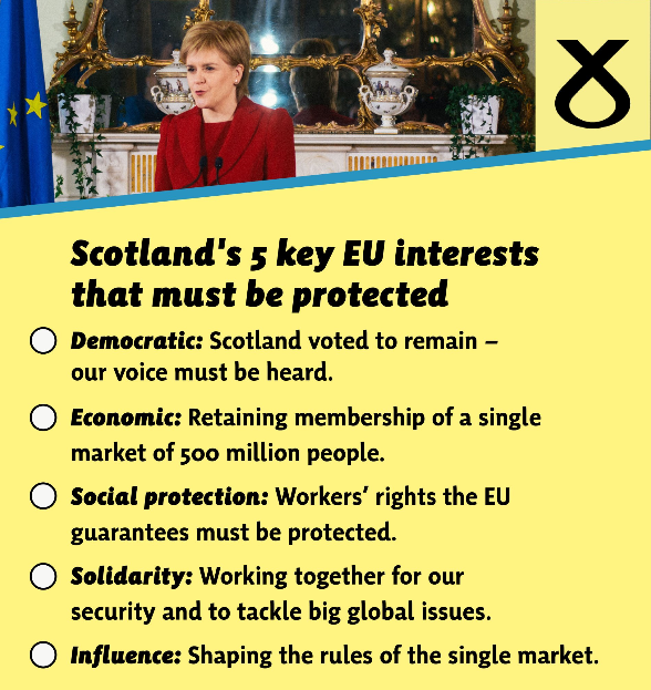 Sturgeon vows to protect Scotland's interests in EU