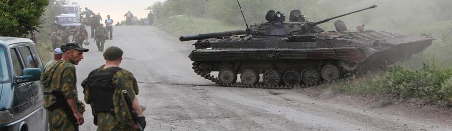 Donbass में युद्ध