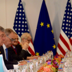 #POTUSAbroad: Trump meets EU presidents, disagreement on #Russia