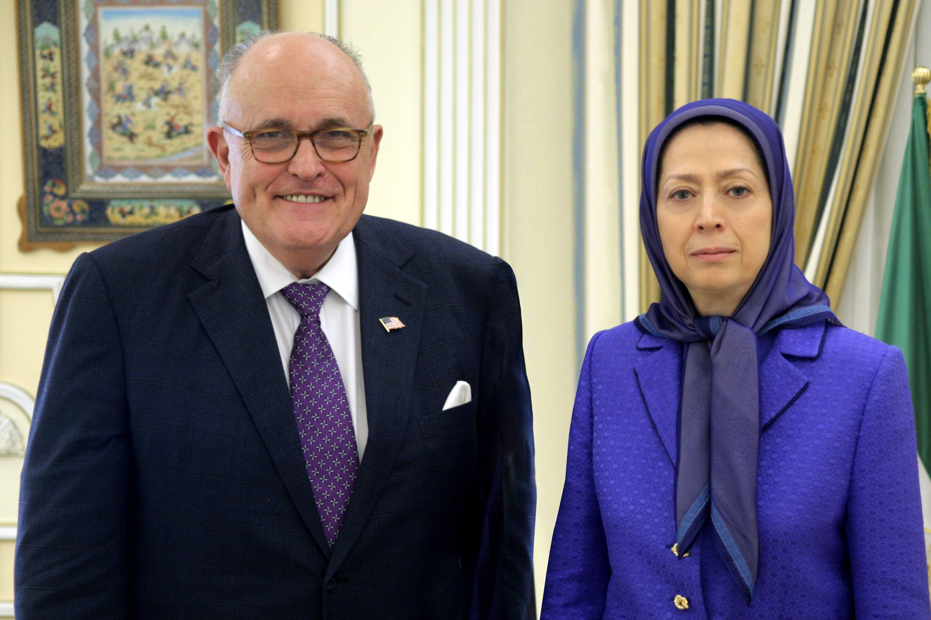 Thumbnail for #Iran: Giuliani – 'The Iranian resistance is a viable alternative to the cleric regime'