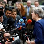Theresa May stresses 'urgency' of EU citizens' deal