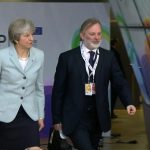 Awkward EU red carpet moment for PM's aide