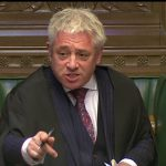 PMQs: John Bercow reminds MPs about harassment in Commons