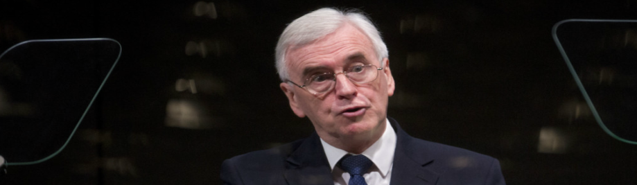 #Labour – McDonnell promises nationalization under a minority government