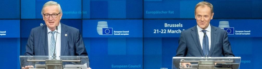 Jean-Claude Juncker eta Donald Tusk