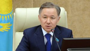 Nurlan Nigmatulin, predsednik Majilisa parlamenta Kazahstana