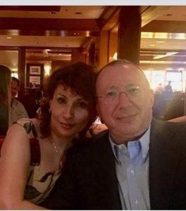 Facebook: Vladimir Gusinsky a'i wraig Ellina
