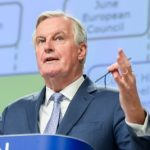 Barnier shows 'ambitious' draft UK deal to EU members