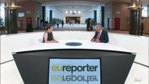 ES reportieris TV Eiropas Parlamentā