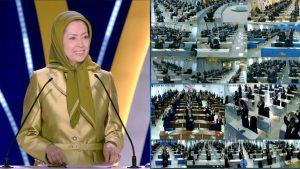 NCRI President-elect Maryam Rajavi,