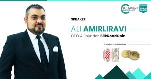 Ali Amirliravi, CEO di LGR Global of Switzerland e fondatore di Silk Road Coin,