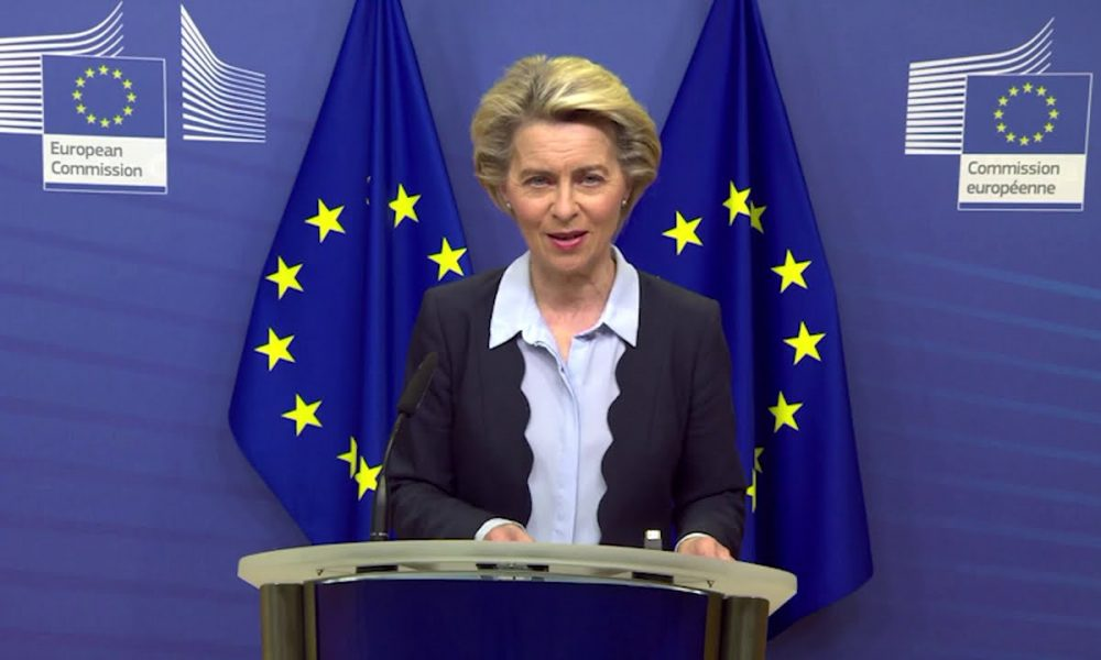Von Der Leyen Proclaims New Contract With CureVac For 405