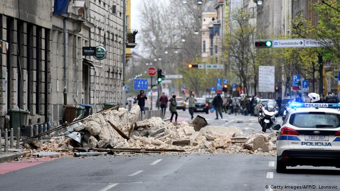 Earthquake Of Magnitude 6 4 Strikes Near Zagreb Croatia Eu Reporter